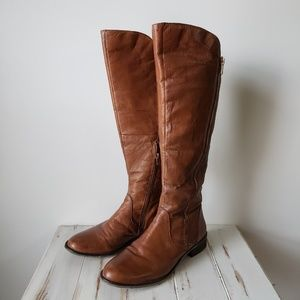 EUC Steve Madden SHAWNY Leather Tall Boots 10M